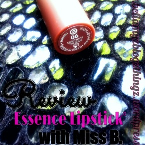 Review Time With Miss B.: Lipstick Essence♡