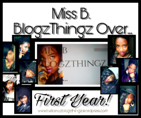 Miss B BlogzThingz Over.. First Blog Anniversary! Yay! (Written in English &Dutch)