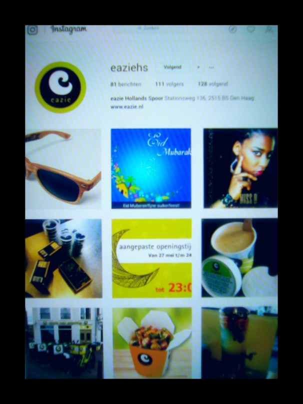 Screenshot Instagram Eazie HS°