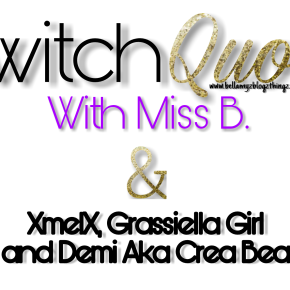 Switch Quote No.4 with XmelX & Miss B.(written in english and dutch)