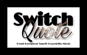 Switch Quote No.55 with Demi Girl & Miss B. (written in english & dutch) Mah Music Vibe¨When You Believe¨- Whitney &Mariah