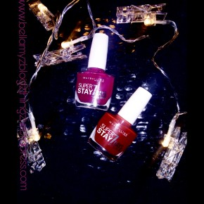 Review with Miss B. Maybelline New York Nail Polish Yay or Nay? (written in english & dutch)