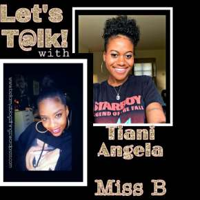Tiani Angela & Miss B | written in English