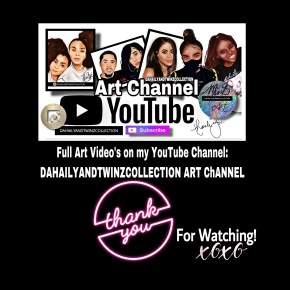 Watch me draw YouTuber LaToya Forever| 2 versions DahailyandTwinzCollection